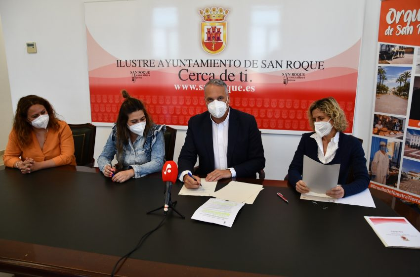 Firmado un convenio con el Ayuntamiento de San Roque para colaborar con Nuevo Hogar Betania