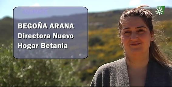 Begoña Arana, el motor del Nuevo Hogar Betania